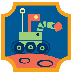Girl Scout Robotics Badge