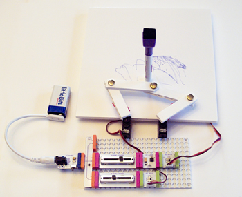 Making Simple Robots Plotter