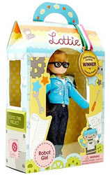 Robot Girl Lottie Doll